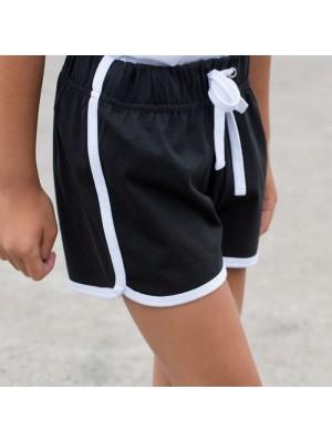 Plain Shorts Ladies Retro SF 220 GSM