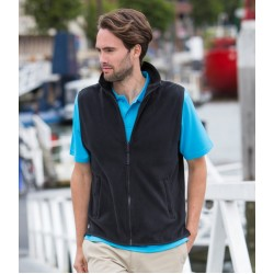 Plain Micro Fleece Jacket Sleeveless Henbury 280 GSM