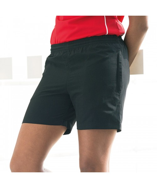 Plain Shorts Ladies Microfibre Finden & Hales
