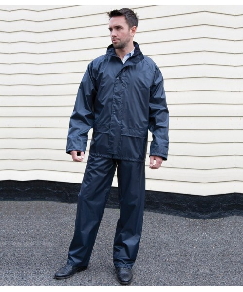 Plain Rain Suit Core Result