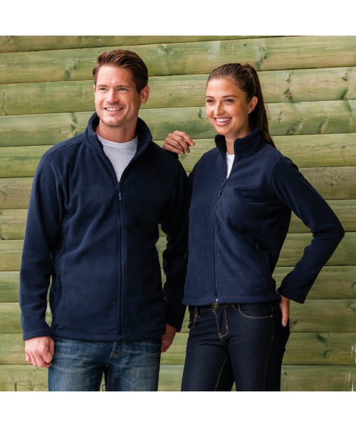 Plain Fleece Jacket Outdoor Russell 320 GSM