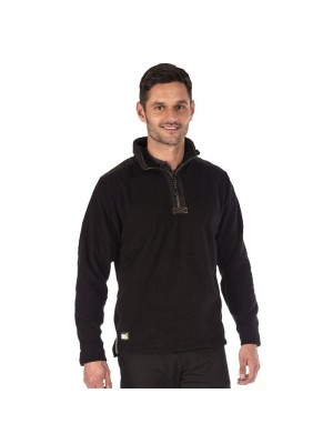Plain Fleece Intercell Zip Neck Regatta Hardwear 280 GSM