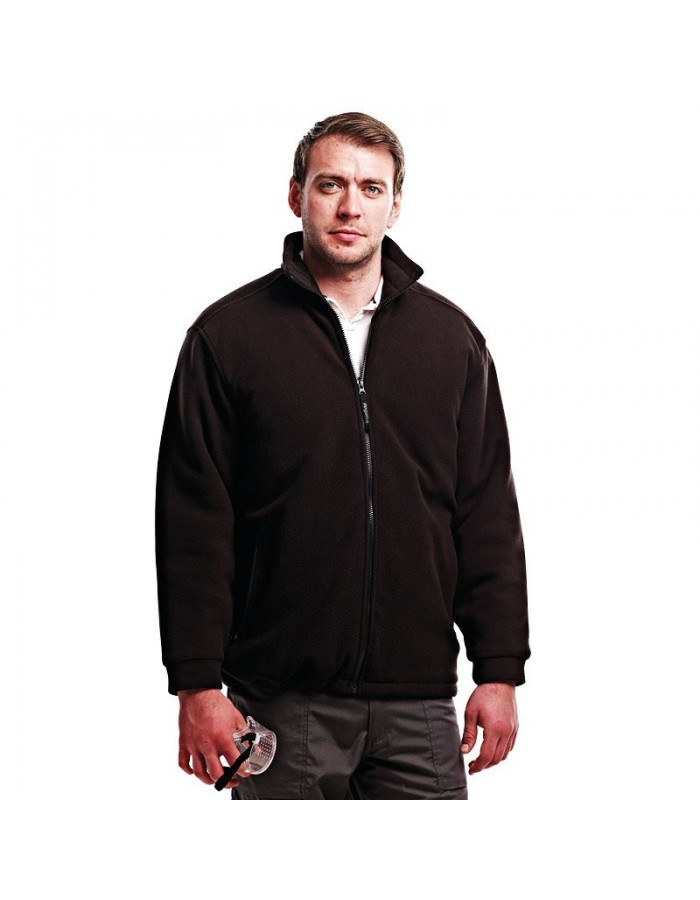 Plain Fleece Jacket Asgard II Quilted Regatta 250 GSM