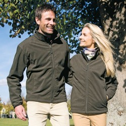 Plain Fleece Jacket Extreme Climate Stopper Result 330 GSM