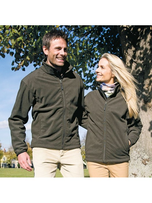 Plain Fleece Jacket Extreme Climate Stopper Result 330 GSM