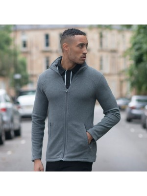 Plain Micro Fleece Jacket Men Skinnifit 200 GSM