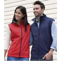 Plain Bodywarmer Soft Shell Result
