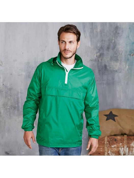 Plain Jacket Zip Neck Windbreaker Kariban