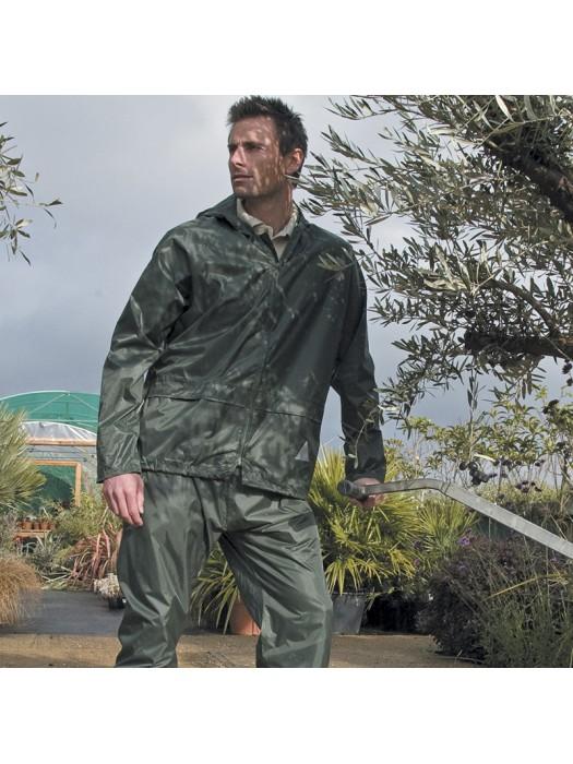 Plain Bag Waterproof Jacket/Trouser Suit Result
