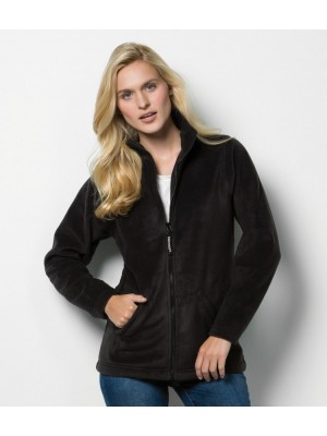 Plain Fleece Jacket Ladies Antarctec Kustom Kit 300 GSM