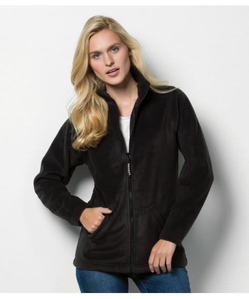 Plain Fleece Jacket Ladies Antarctec Kustom Kit 300 GSM