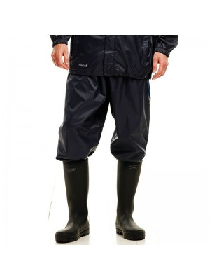 Plain Waterproof Overtrousers Packaway Regatta