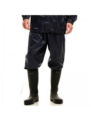 Plain Waterproof Overtrousers Packaway Regatta