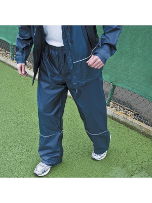 Plain Waterproof Pro-Coach Trousers Result N/A GSM