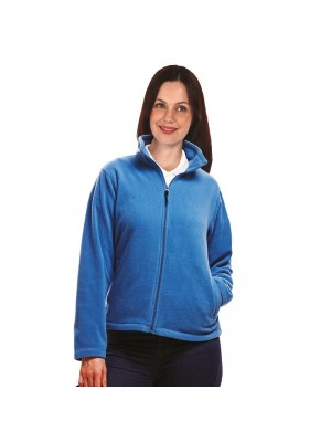 Plain Micro Fleece Ladies Zip Neck Regatta 170 GSM