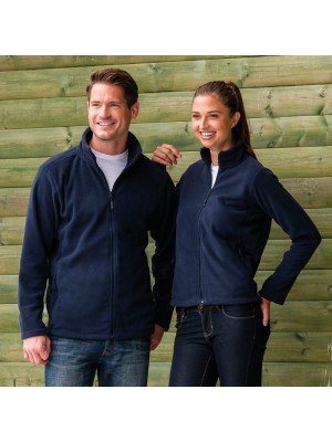 Plain Fleece Jacket Ladies Outdoor Russell 320 GSM