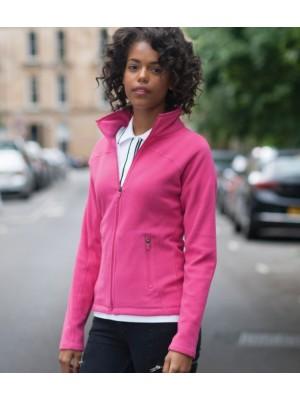 Plain Micro Fleece Jacket Ladies  Skinnifit 200 GSM