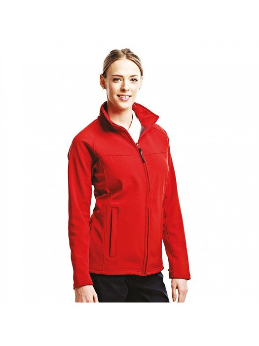 Plain Soft Shell Jacket Ladies Uproar Regatta