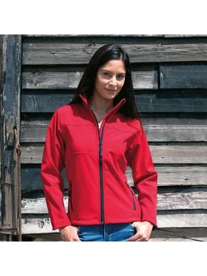 Plain Soft Shell Jacket Ladies Classic Result
