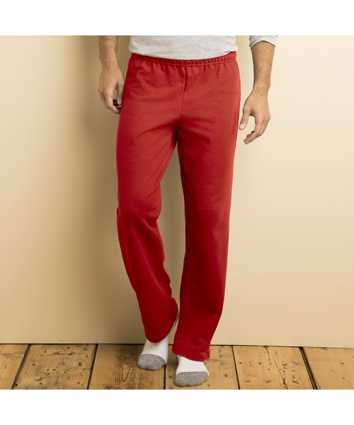 Plain Jog Pants Blend Open Hem Gildan 280 GSM