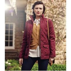 Plain Jacket Ladies Quilted Tarah Regatta