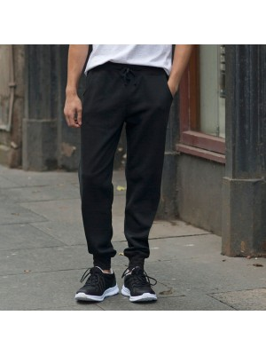 Plain Jog Pants Men Slim Cuffed Skinnifit 250 GSM