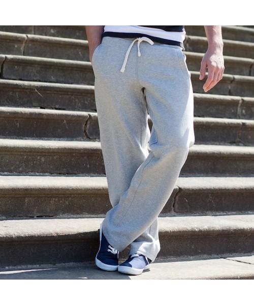Plain Pants Track Front Row 330 GSM