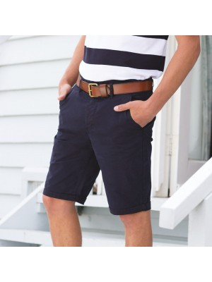 Plain Shorts Stretch Chino Front Row 220 GSM