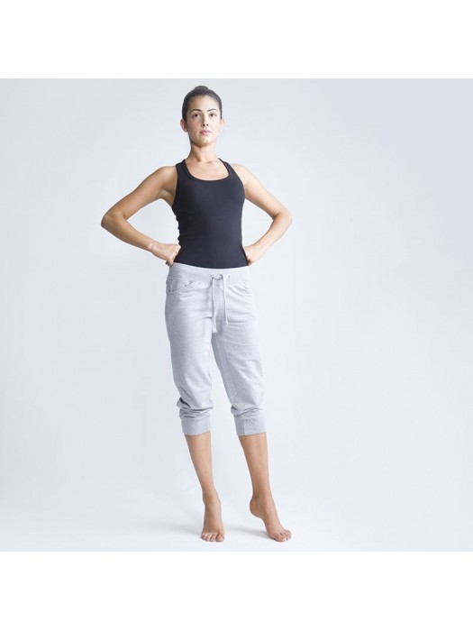 Plain Jog Pants 3/4 Ladies Skinnifit 280 GSM