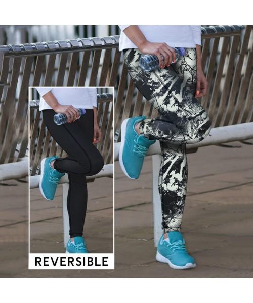 Plain Leggings Reversible Work Out Skinnifit 270 GSM