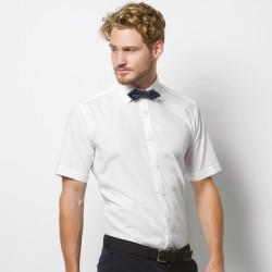 Plain Shirt Short Sleeve Slim Fit Kustom Kit 105 GSM
