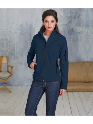 Plain Soft Shell Jacket Ladies Kariban