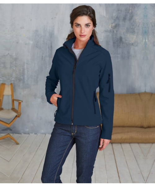 Plain Soft Shell Jacket Ladies Kariban