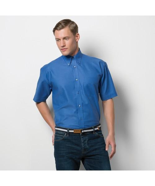 Plain Shirt Short Sleeve Workwear Oxford Kustom Kit 135 GSM