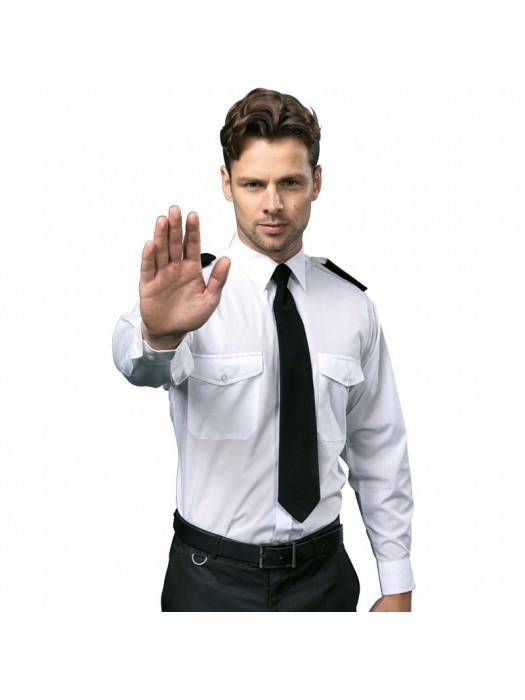 Plain Pilot Shirt Long Sleeve Premier 105 GSM