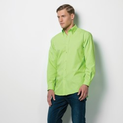 Plain Shirt Long Sleeve Workforce Kustom Kit 115 GSM