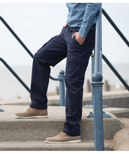 Plain Trousers Cargo Front Row 280 GSM
