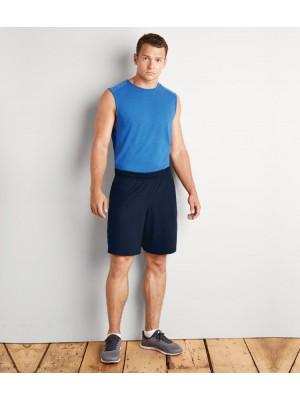 Plain Shorts Performance Gildan 173 GSM