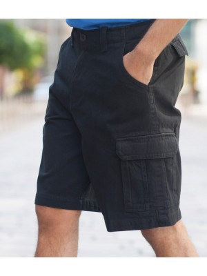 Plain Shorts Cargo Skinnifitmen 280 GSM