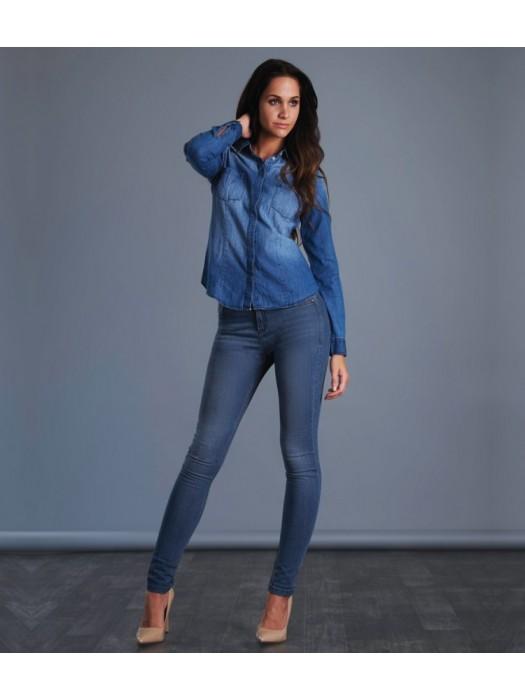 Plain Jeans Ladies Lara Skinny So Denim