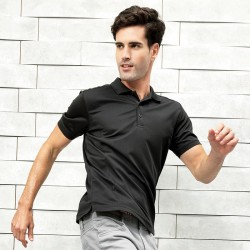 Plain Pique Polo Shirt Coolchecker Premier 155 GSM