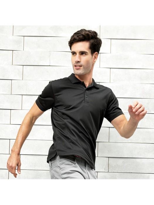 Plain Pique Polo Shirt Coolchecker Premier 155 GSM