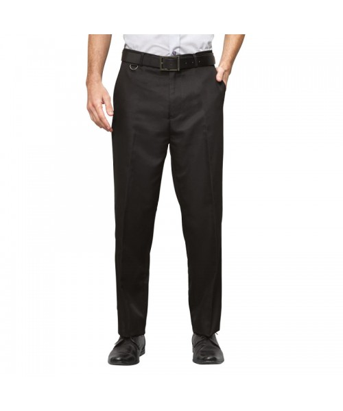 Plain Hospitality Trousers Flat Fronted Premier 215 GSM