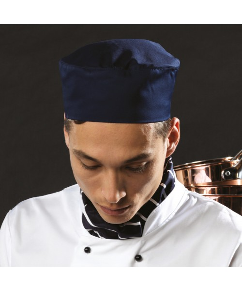 Plain Cap Chef's Skull Premier black/white check 195 gsm colo GSM