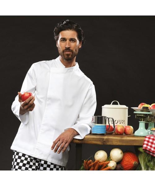 Plain Chef's Tunic Culinary Long Sleeve Premier 195 GSM