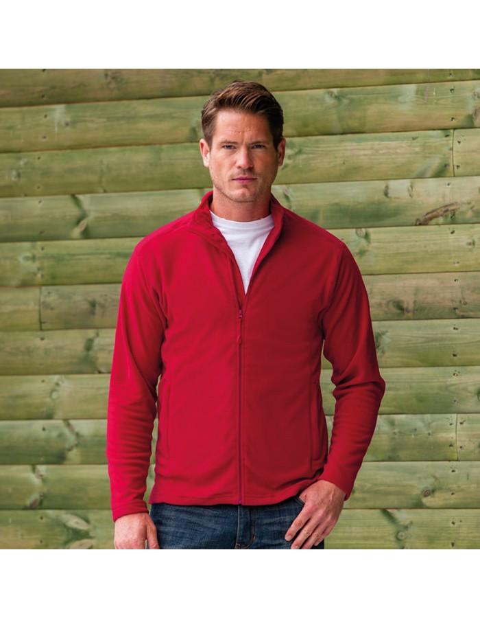 Plain Jacket Micro Fleece Russell 190 GSM
