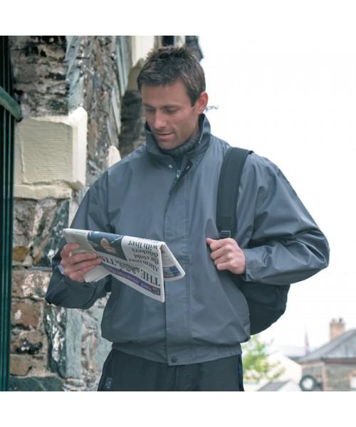 Plain Jacket Waterproof Leisure Result 200 GSM