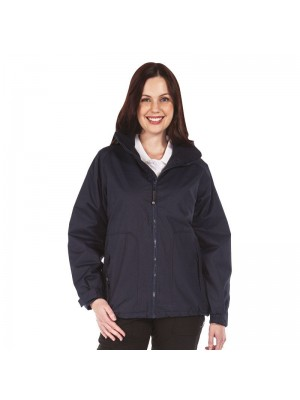 Plain Insulated Jacket Ladies Hudson Waterproof Regatta