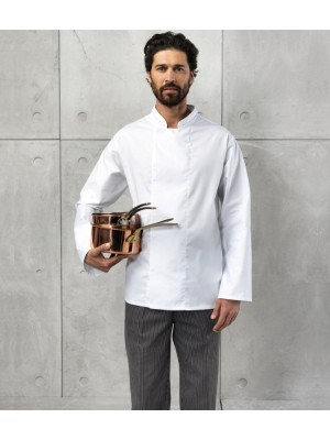 Plain Jacket Coolmax Chef's Premier 195 gsm