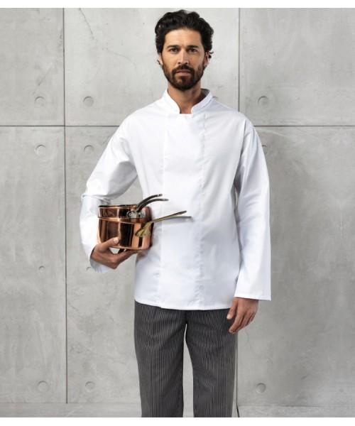 Plain Jacket Coolmax Chef's Premier 195 gsm